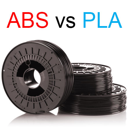 کلیه تفاوت های مواد ABS و PLA