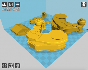 طراحی و پرینت ربات جنگنده - اختصاصی خدمات پرینت سه بعدی نیکانو