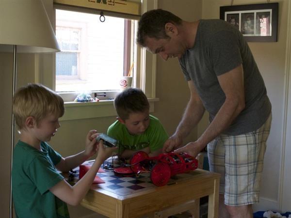 پرینت سه بعدی ربات آموزشی روبی برای کودکان