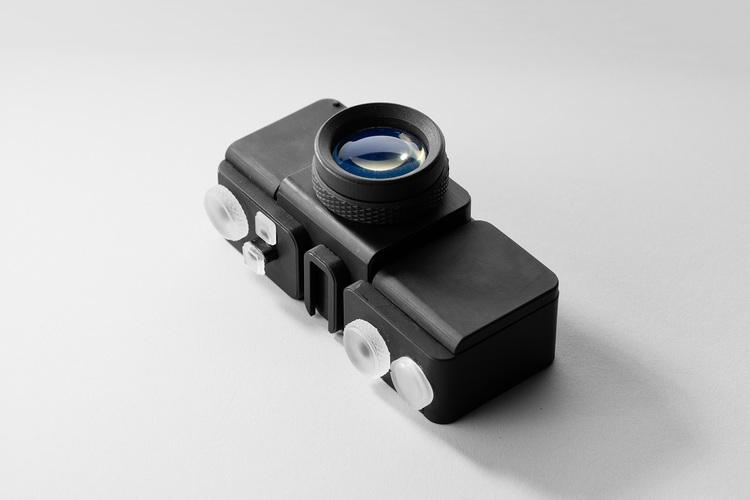 اولین دوربین عکاسی ساخته شده با پرینتر سه بعدی