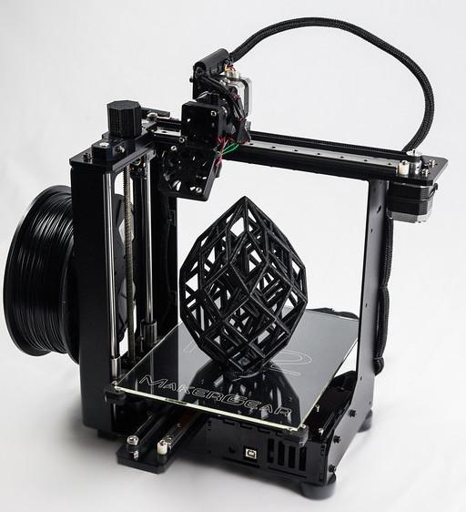 پرینتر سه بعدی برتر سال 2017 - MakerGear M3