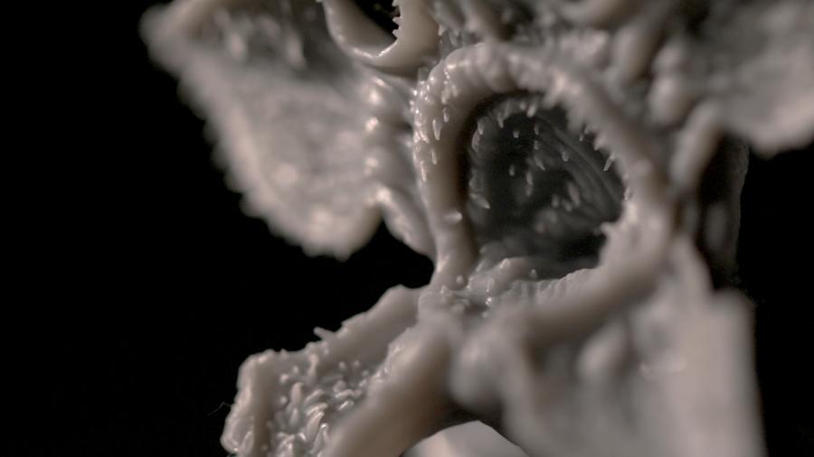 خلق هیولای سریال Stranger Things با پرینت سه بعدی SLA - 6