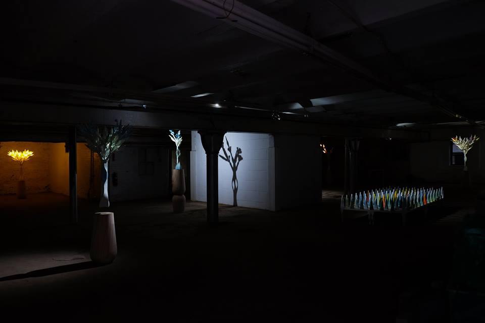 پرینت سه بعدی درخت و بازی با نور و سایه 4