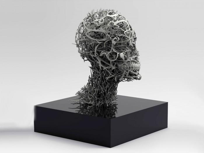 استفاده از پرینتر سه بعدی به منظور تجسم کالبد و روح انسانی 2